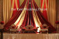 Toronto Wedding Decor, South Asian Weddings, Backdrops