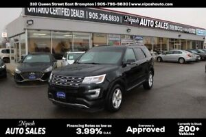 2016 Ford Explorer FULLY LOADED,LEATHER,BACK UP CAMERA,SUNROOF,