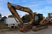 Caterpillar 315LC hydraulic excavator with cab