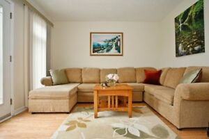 Laurelwood 3 bedrooms & family room (or 4th room) from Mar 1