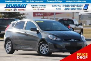 2012 Hyundai Accent Hatchback*MP3 COMPATIBLE,USB PORT*