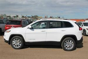 2016 JEEP CHEROKEE LIMITED 0% FOR 84 MONTHS, UNTIL JAN 31ST !!