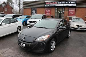 2011 Mazda Mazda3 GX ACCIDENT FREE - GET APPROVED NOW