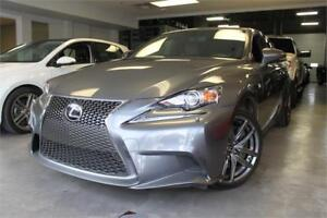 2015 Lexus IS 350 F Sport AWD Series3 Comes With Winter Tire Pkg