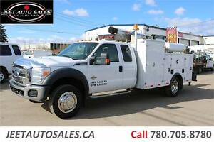 2012 Ford Super Duty F-550 DRW XLT Mechanical service Body