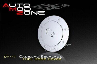 07-14 Cadillac Escalade Triple Chrome Fuel Tank Gas Door Cap Cover