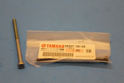 Used, NOS YAMAHA BW80 CS3 CS5 DT1 PAN HEAD SCREW 6X100MM PART# 98507-06100-00 for sale  Terrell