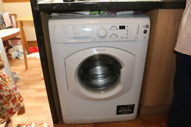Hotpoint washing machine . as new condition . 1400spin