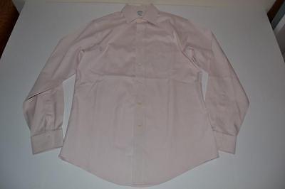 BROOKS BROTHERS 1818 LIGHT PINK POCKET DRESS SHIRT MENS SIZE 15 34 - Light Pink Pocket Dress Shirt