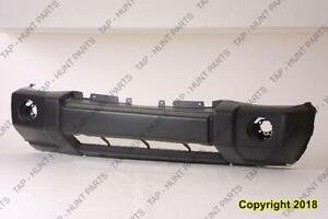 Bumper Front Primed Without Chrome And Fog Light Hole CAPA Jeep Commander 2006-2010