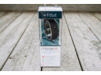 *BRAND NEW* Unopened - Fitbit Charge HR - Black - Large
