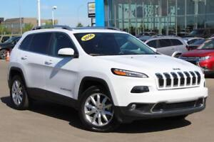 2016 Jeep Cherokee Limited V6 4X4 NAV H/C LEATHER
