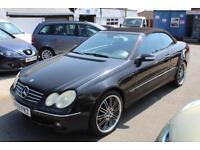 LHD 2003 Mercedes CLK320 Auto Cab UK REGISTERED