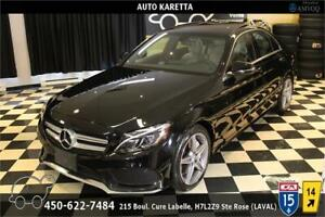 2016 MERCEDES-BENZ C300 4MATIC/SPORT AMG/NAVI/PANORAMIC/LED/CAM
