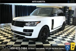 2013 RANGE ROVER SUPERCHARGED LWB (LONG WHEEL BASE) DVD/NAVI/XEN