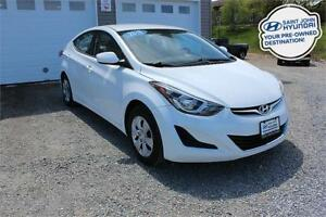2016 Hyundai Elantra L! 6 SPEED! WARRANTY! 78 BI-WEEKLY!