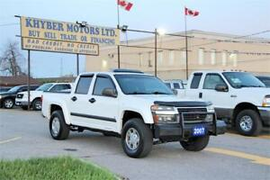2007 GMC Canyon SLE Crew Cab|PUSH BAR|MOON-ROOF|Certified|2 Yea