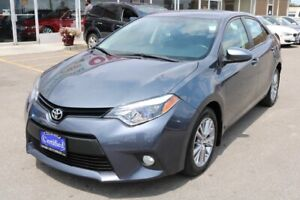 2014 Toyota Corolla LE NAVI,LEATHER,ROOF,CAMERA,ALLOYS WHEEL