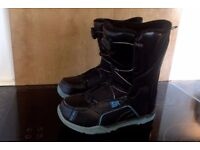Black Ride Spark Snowboard Boots UK Size 3