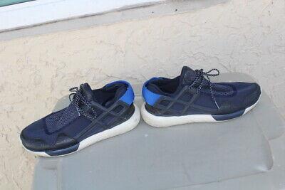 Y-3 Yohji Yamamoto x adidas Qasa Racer MEN BLACK BLUE   SHOES SIZE 10