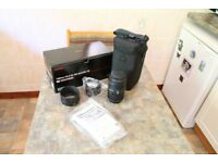 Sigma f2.8 105mm DG MACRO HSM Canon fit lens