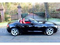 15 PLATE BMW Z4 18i sDrive 1 PREV OWN 17,983 MILES RED LEATHER SIMPLY STUNNING
