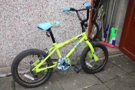 "Apollo Ace Kids Bike - 16"" Wheel - great condition"