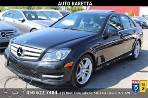 2013 MERCEDES-BENZ C300 4MATIC/AWD XENON, TOIT OUVRANT,BLUETOOTH