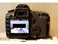 Canon EOS 5d II mk 2 not iii or iv DSLR camera