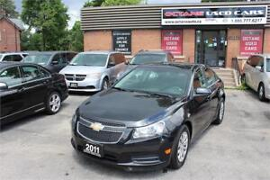 2011 Chevrolet Cruze LT Accident Free! Low Milage!