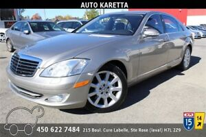 2007 MERCEDES S550 4MATIC/AWD  NAVIGATION, XENON, TOIT,
