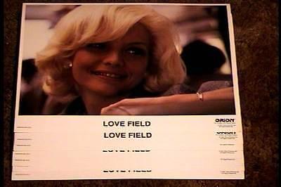 LOVE FIELD 11x14 LOBBY CARD SET '91 MICHELLE PFEIFFER