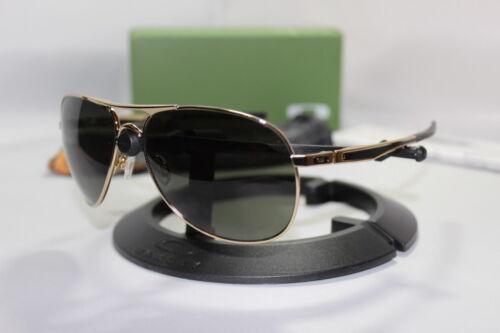 New Oakley Yuvraj Singh Signature Plaintiff Polished Gold/Dark Grey 004057-12