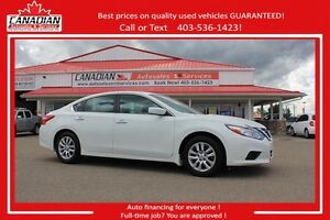 2016 Nissan Altima 2.5 S LOW KMS!! $162/SEMI-MONTHLY OAC
