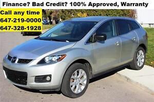 2007 Mazda CX-7 GS Auto RUNS LIKE NEW FINANCE 100% APPROVED