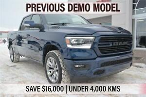 2019 Ram 1500- PREVIOUS DEMO, UNDER 4,000 KMS, SAVE $16,000