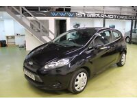 FORD FIESTA 1.4 TDCI EDGE £20 ROAD TAX YEAR 2012 BLACK 85177 MILES WITH FULL SERVICE HISTORY
