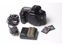 Canon EOS 5D Mk1 + 50mm f/1.8 lens