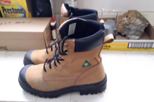 Two months old pair of work boots almost brand new