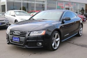 2010 Audi A5 2.0L S-LINE SUNROOF NO ACCIDENTS ONTARIO VEHICLE