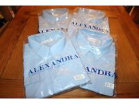 Brand New And Still Sealed Gents Light Blue Long Sleeve Shirts