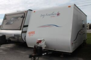 2007 A Liner Jay Feather Travel Trailer