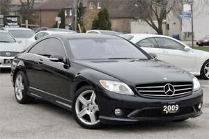 2009 Mercedes Benz CL550 4MATIC|AMG|NAVI|CAM|CERTIFIED|LOW KM!
