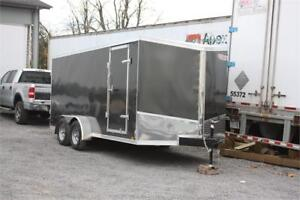 2018 Discovery 7X16 Enclosed Cargo Trailer Barn Doors