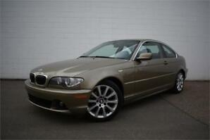 2005 BMW 325ci| CERTIFIED | 5 SPD | COUPE | LOW KM | HEATED LTHR