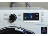 Samsung Ecobubble 9kg washing machine Ww90j6410cw