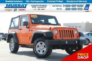 2012 Jeep Wrangler *SOFT TOP*
