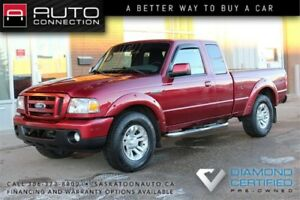2010 Ford Ranger SPORT SuperCab 4x4 ** ACCIDENT FREE ** PST PAID