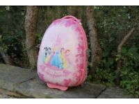 DISNEY PRINCESS LUGGAGE HEYS - Used
