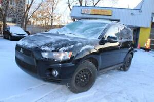 2010 Mitsubishi Outlander LS,7 PSGS,4X4,,8 TIRES WIITH MAGS,